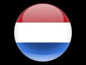 Vlag van Nederland Europa Continent